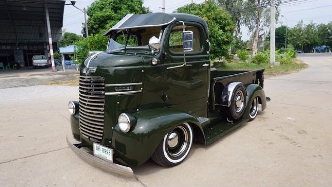 Splendid Beauty From Thailand 1940 Dodge Coe Truck By