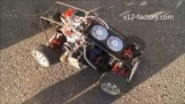 V8 Powered R/C Vehicle Drives Insanely Cool-Must See!!!