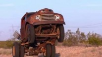 This Can Be the Most Enjoyable 13 Secs of Your Life: Ford F-6 Rat Rod Performs a Gorgeous Wheelie