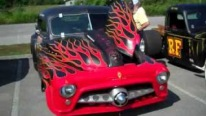 Cool Guy Tony's 1952 Dodge Chop Top Rat Rod is Inspired by Johnny Cash's Song