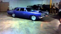 Good Looking 1969 Plymouth Roadrunner Pro Street Drives on E85
