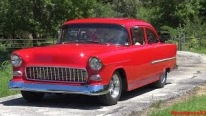 Breathtaking 1955 Chevrolet Sedan 210 is What Chevy Enthusiasts' Dreams Are Made of