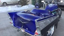 1957 Chevrolet 502 Powered 20017 Boss Hoss Trike is Majestically Cool