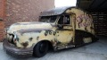 Eccentric Mechanic Paul Bacon Transforms London Taxi into Rusty Rat Rod