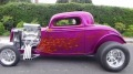 """Purple Fire"": 1933 Ford 3 Window Coupe of California"