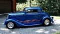 350 Small Block Powered 1934 Chevrolet Coupe Street Rod