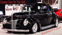 Alloway's Hot Rod Shop's 1940 Ford Hot Rod Rocks The SEMA Show 2017