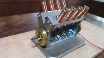 Fully Functional Solenoid Engine Shows How Fascinatingly Physics Works