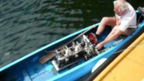 Compelling Stirling Engine Powered Canoe Works So Smoothly
