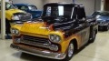 Big Block Powered 1958 Chevrolet Apache Hot Rod Pickup with Slick Paintjob
