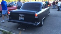 Small Block Powered 1955 Chevrolet Caught on Camera in Ohio