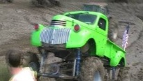 1941 Chevrolet Monster Truck Performs a Muddy Show!