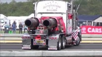 12,500 HP Twin Jet Engine Powered Trucks Shows Off Its Gorgeous Body