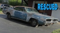 Treasure Left to Decay: 1969 Dodge Charger Abandoned in Forest For Over 20 Years