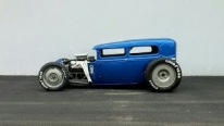 Chevy 350 T56 Powered 1931 Model A Sedan Hot Rod Catches All Eyes On