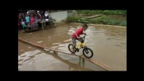The World's Coolest and Funniest Bike Race Ever!