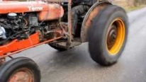 Tractor Racing at Its Finest: Turbocharged Volvo Terror Tractor Kicks Assess
