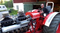 Combination of Two Legends: Rolls Royce Meteor V12 Powered BM-Volvo 470 Bison Tractor Modifed by 8V-71 Detroit
