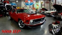 800HP Ford Shotgun Hemi Powered 1970 Ford Mustang Boss 429