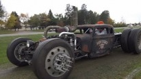 Cummins Twin Turbo Diesel Powered 34' Dodge Rat Rod Product of Ingenuity
