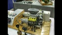 1:4 Scale Miniature Blown Conley Stinger 609 V8 Engine Looks Sounds and Runs Amazing