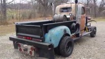 1940 Chevrolet 1-1/2 ton Dump Truck Transformed into Super Cool Rat Rod