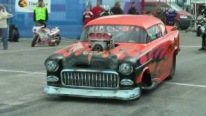Blown Alcohol Powered 1955 Chevrolet Performs Like a Boss in Norway
