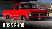 The World's Reddest and the Baddest Ford F-100 by On The Ground Designs