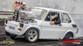 Blown Injected Supercharged Fiat Type 126p Does Some Insane Burnouts in Australia