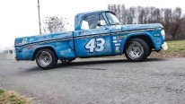 King of NASCAR Richard Petty's Garage Truck in Full Detail