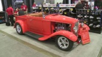1932 Ford Roadster Pickup Truck Catches All Eyes On at SEMA Show