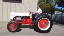 """Resto-Tractor"": Ford 8BA Flathead V8 Powered 1952 Ford 8N Tractor"