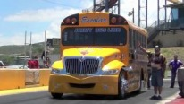 Breathtaking Drag Race of Two Extraordinary School Buses