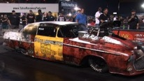 Gangsta 1955 Chevy Pro Mod is One Sick Automobile Performing an Awesome Ride