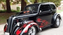 900HP Chrysler Hemi Powered 1949 Ford Anglia Renewed to be an Exquisite Pro-Street