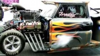Fast Freddy's 1966 Pro Mod Chevrolet Pickup is the World's Fastest Pickup Truck