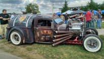 """Ratical"" 1937 Tanker Rat Rod Dodge Pickup is Awesome!"