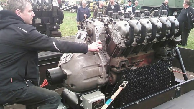 Ford Truck Enthusiasts >> Tatra 83 Heavy-Duty Truck's Monstrously Powerful V12 Engine