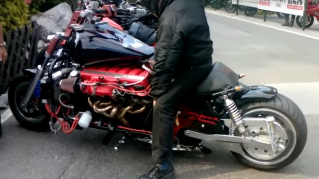 a flawlessly self made 12 cylinder aston martin motorbike is gonna make you want to build your own. Black Bedroom Furniture Sets. Home Design Ideas