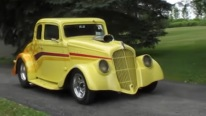 1933 Willys Pro Street is Apparently Restored to Reach the Perfection Both Visually and Functionally