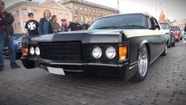 A True American Gangster: Perfectly Matte Black 1969 Lincoln Continental
