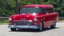 Ram-Jam GM Powered Custom 1955 Chevy 150 Station Wagon is Simply Gorgeous