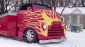 Excellent Looking 1948 COE Street Rod Plows Snow Like a Boss!