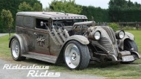 David Jeffrey of New Zealand: Reigning King of Award-Winning Rat Rods