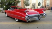 Ron Rufo's 1959 Cadillac Caddy Series 62 Convertible in Fabulous Red Paint