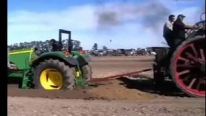 The New Against the Old: John Deere vs 1800 Steam Tractor
