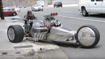 Tim Cotterill's Mind-Blowing 1000hp Trike Proves That Size Really Matters