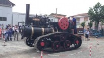 Crawler Steam Engine Tractor is Recreated Based on Original Hornsby Mammoth
