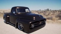 Hot Rod Shop Owner and Designer Lukasz Granicy Attended to SEMA Battle of the Builders with His 1955 Ford F100 Pickup Truck