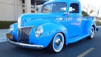 All Steel Retro Rod: 1941 Ford Pickup with Original Flathead V8 C4 Auto Flat-O-Matic